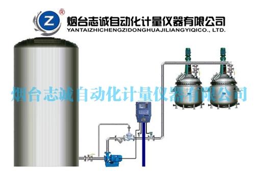 反应釜定量加料系统
