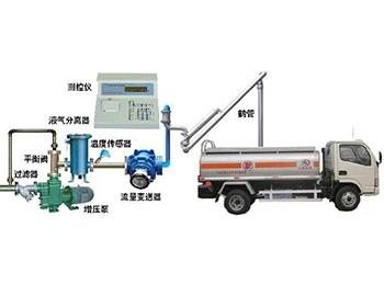 液体定量灌装槽车
